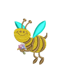 Bee Embroidery logo