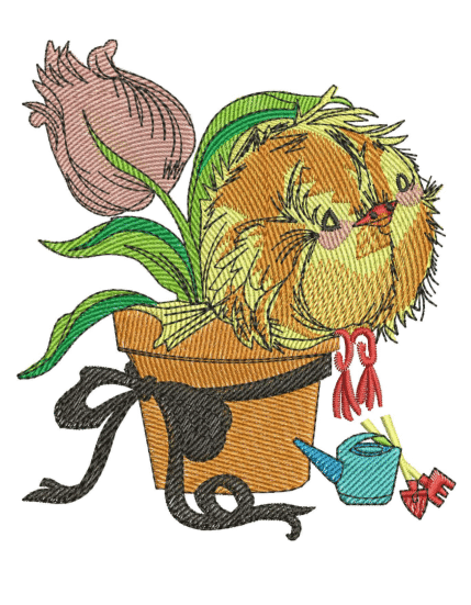 Tulip Embroidery Designs