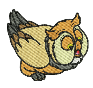 Friend owl Embroidery Designs
