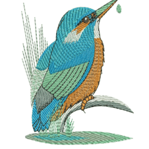 King fisher Embroidery Designs