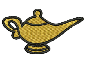 LAMP Embroidery Design