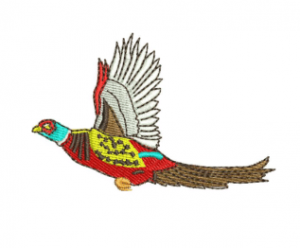 Red Bird Embroidery Designs