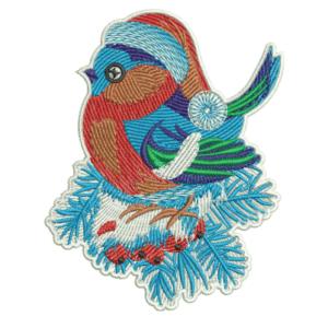 Snowy Rowan Embroidery Designs
