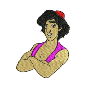 Aladdin Embroidery Designs