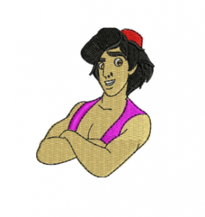 Aladdin Embroidery Designs