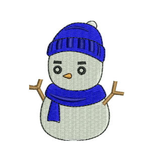 Snow-Man Embroidery Designs