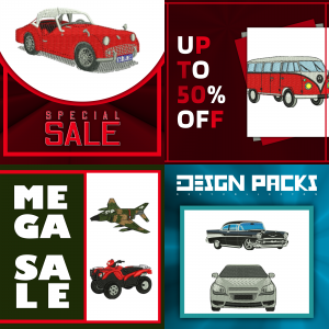 Transport Vehicles design packs