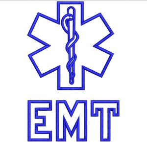 EMT Applique Embroidery Design
