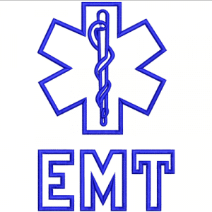 EMT Applique Embroidery Design