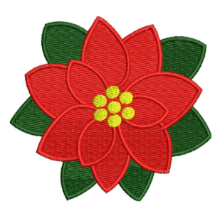 Red Rose1 Embroidery Design