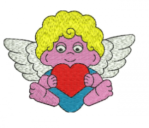 St Valentines day Embroidery Design