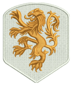 lion 3D Embroidery Design